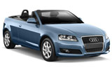 Car rental Audi A3 Convertible