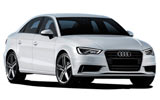 Car rental Audi A3 Saloon