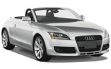 Car rental Audi TT Convertible