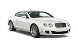 Car rental Bentley Continental GT Coupe