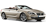 Car rental BMW 6 Series Convertible