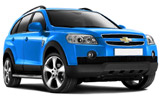 Car rental Chevrolet Captiva