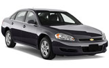 Car rental Chevrolet Impala