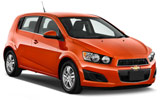 Car rental Chevrolet Sonic