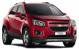 Car rental Chevrolet Trax