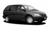 Car rental Chrysler Voyager