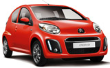 Car rental Citroen C1 Airscape