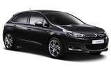 Car rental Citroen C4