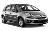 Car rental Citroen Picasso