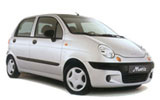 Car rental Daewoo Matiz