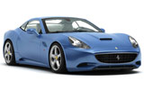 Car rental Ferrari California Turbo