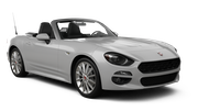 Car rental Fiat 124 Spider