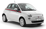 Car rental Fiat 500 Lounge