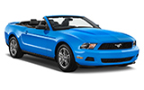 Car rental Ford Mustang Convertible