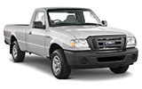 Car rental Ford Ranger