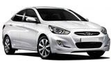 Car rental Hyundai Accent