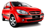 Car rental Hyundai Getz