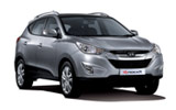 Car rental Hyundai Tuscon