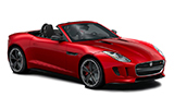 Car rental Jaguar F-Type Convertible