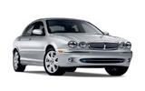 Car rental Jaguar X-Type