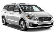 Car rental Kia Sedona