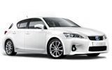 Car rental Lexus CT200 Hybrid