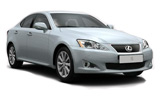 Car rental Lexus IS200