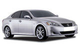 Car rental Lexus IS250
