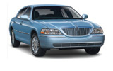 Car rental Lincoln Towncar