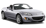 Car rental Mazda MX5