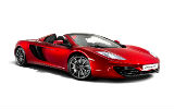 Car rental McLaren MP4 Spider