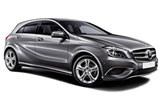Car rental Mercedes A Class