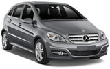 Car rental Mercedes B Class