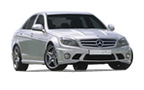 Car rental Mercedes C Class