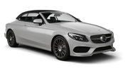 Car rental Mercedes C Class Convertible