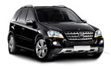 Car rental Mercedes ML