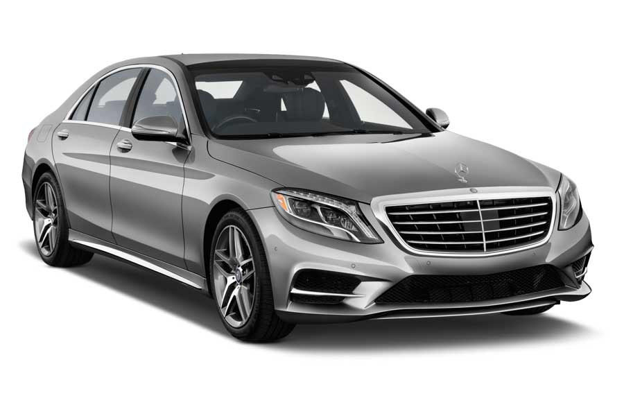 Car rental Mercedes S Class AMG Line