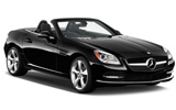 Car rental Mercedes SLK Convertible