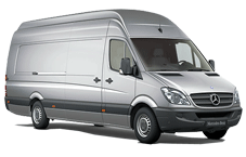Car rental Mercedes Sprinter 313