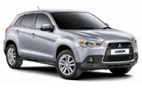 Car rental Mitsubishi ASX