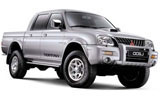 Car rental Mitsubishi L200 Cabstar