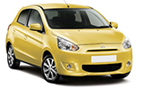 Car rental Mitsubishi Mirage