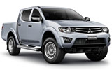 Car rental Mitsubishi Triton
