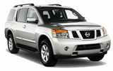 Car rental Nissan Armada