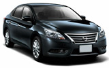Car rental Nissan Bluebird