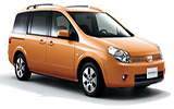 Car rental Nissan Lafesta