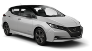 Car rental Nissan Leaf