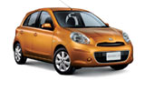 Car rental Nissan  March
