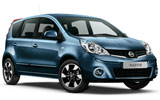 Car rental Nissan  Note