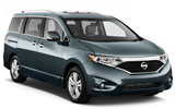 Car rental Nissan Quest 5+2 Seater